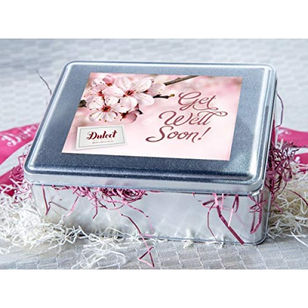 Dulcet Get Well Speedy Recovery Gift Box Includes: Raspberry Cru...