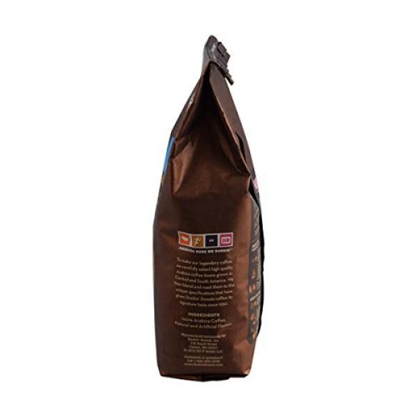 Dunkin Donuts Ground Coffee 1lb Bag, Original Blend