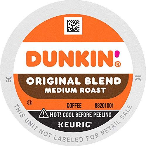 Dunkin Original Blend Medium Roast Coffee, 88 K Cups for Keurig...