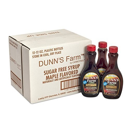 Low Calorie Dunns Farm Maple Pancake Syrup, 12 Ounce - 12 Case