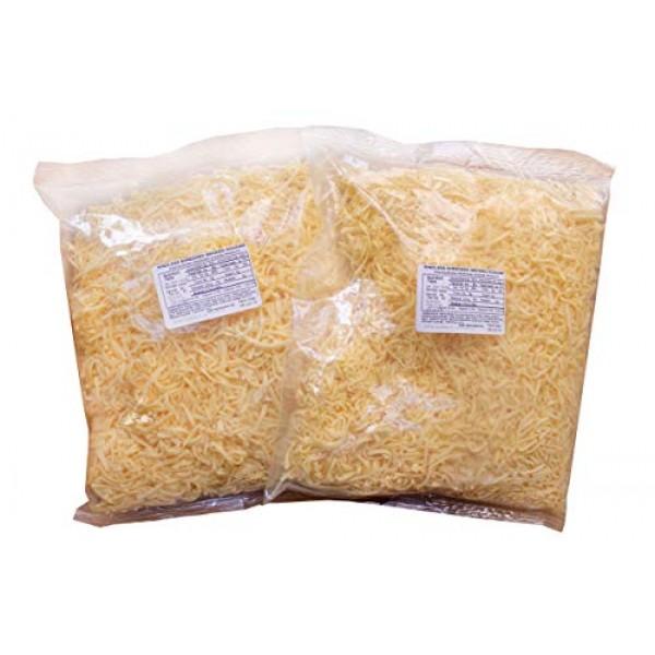 Dutch Garden Shredded, Naturally Smoked Goudam, 2, 2 Lb bags 4 ...