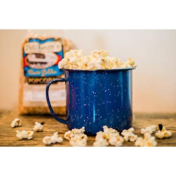 Dutchmans Popcorn - Gourmet Yellow Popcorn Kernels 4lb Refill ...