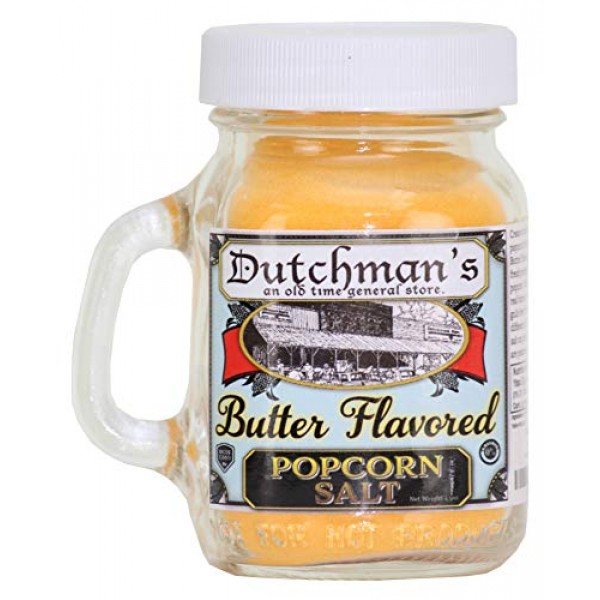 Dutchmans Buttery Popcorn Seasoning Salt,Old Fashioned Flavor ...