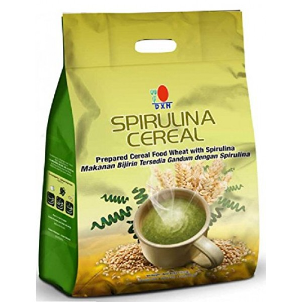 1 Pack DXN Spirulina Cereal Food Wheat 30 Sachets