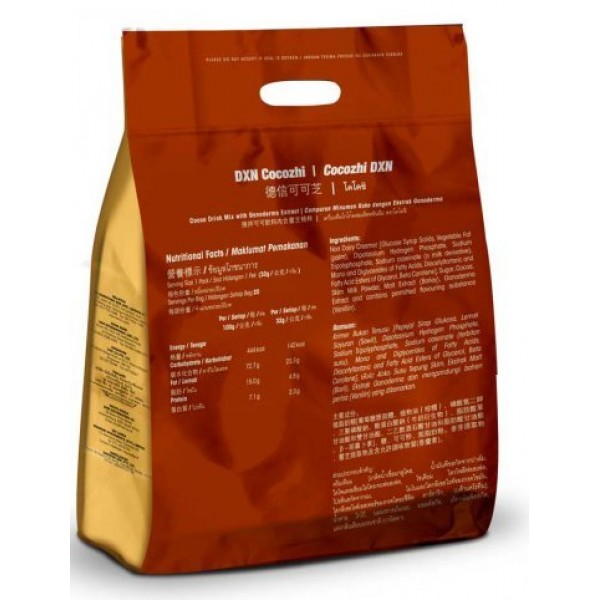 4 Packs DXN Cocozhi Cocoa Drink Ganoderma 20 Sachets