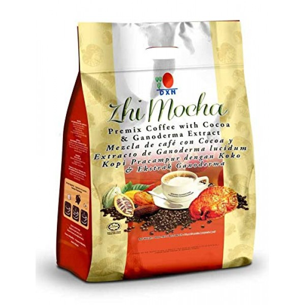 4 Box DXN Zhi Mocha with Healthy Ganoderma Coffee Total : 80 sa...