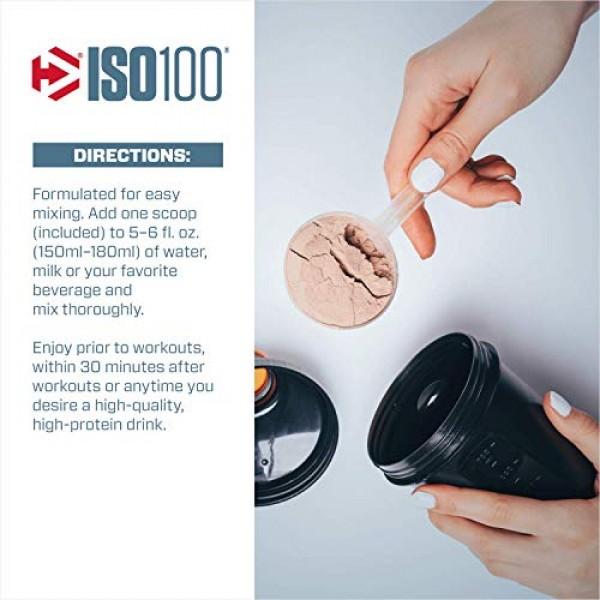 Dymatize ISO100 Hydrolyzed Protein Powder, 100% Whey Isolate Pro...
