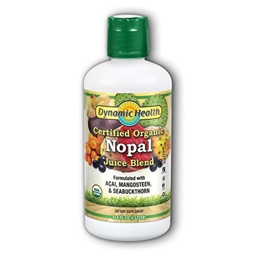 Dynamic Health Organic Certified Nopal Juice Blend Nopal - 33.8 ...
