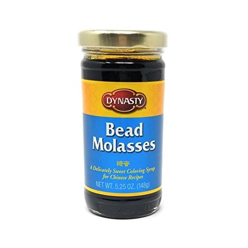 Dynasty Bead Molasses, 5.25-Ounce Jars Pack of 4