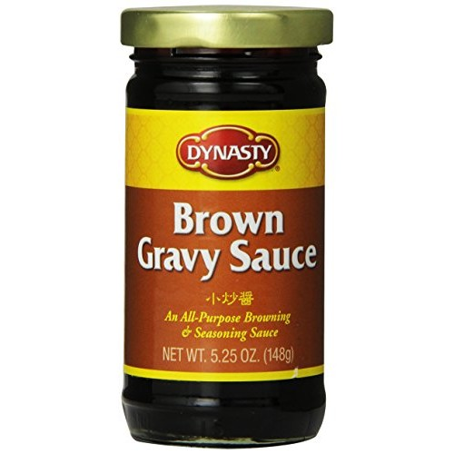 Dynasty Brown Gravy Sauce, 5.25 Ounce Pack of 12