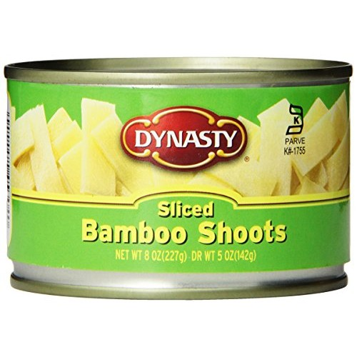 Dynasty Canned Sliced Bamboo Shoots, 8-Ounce Pack of 12