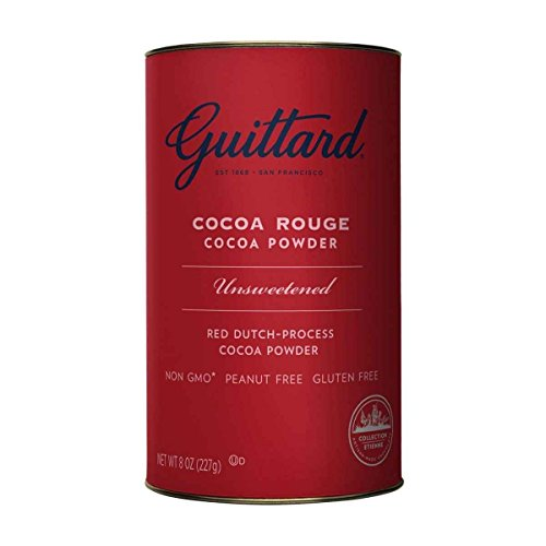 E Guittard Cocoa Rouge Cocoa Powder 8 Oz Pack of 6
