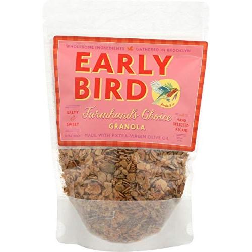 Early Bird, Granola Farmhands Choice Pecans, 12 Ounce