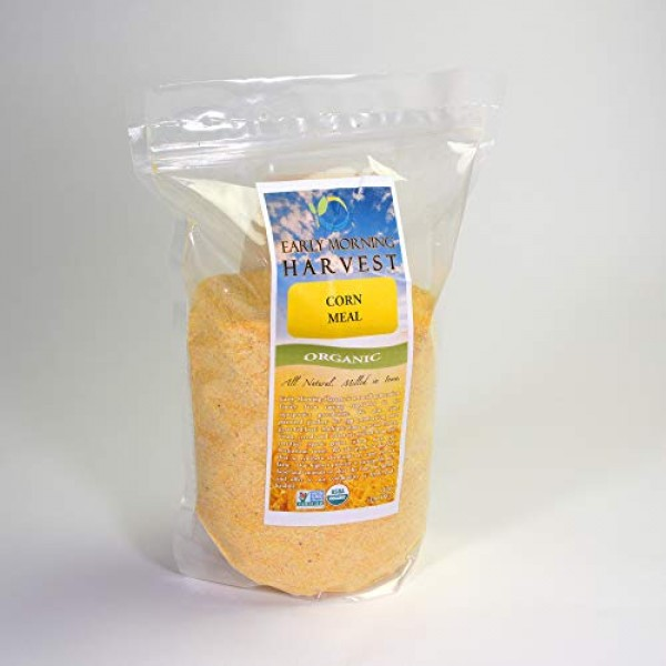 Early Morning Harvest Organic Non-GMO Corn Meal