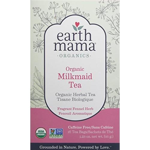 Organic Milkmaid Tea by Earth Mama | Supports Healthy Breastmilk...