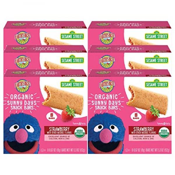 Earths Best Organic Sesame Street Sunny Days Toddler Snack Bars...