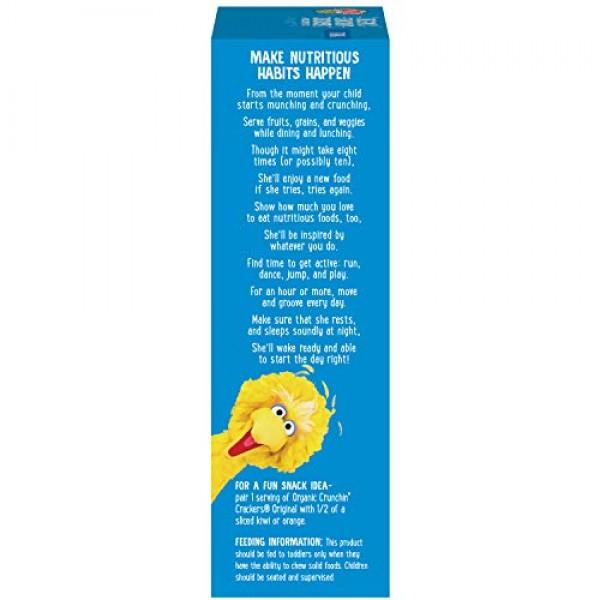 Earths Best Organic Sesame Street Toddler Crunchin Grahams, Ho...