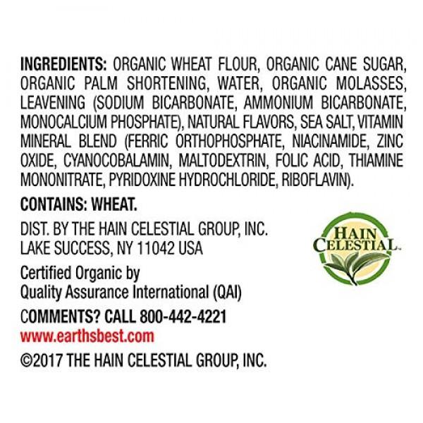 Earths Best Sesame Street Cookies, Vanilla, 5.3 Oz