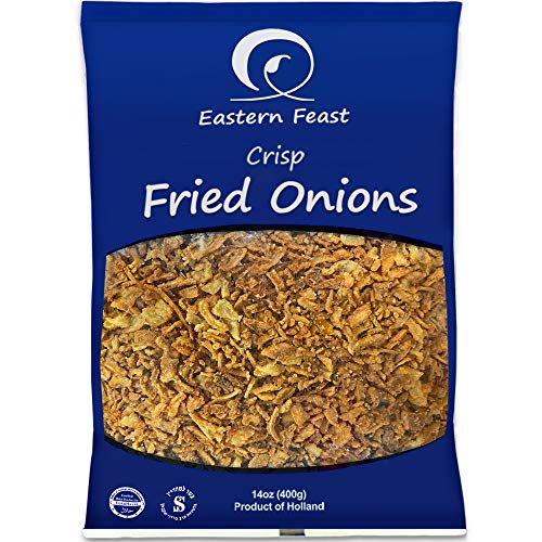 EF - Fried Onions 2 PACK, 14 oz each, Product of Holland