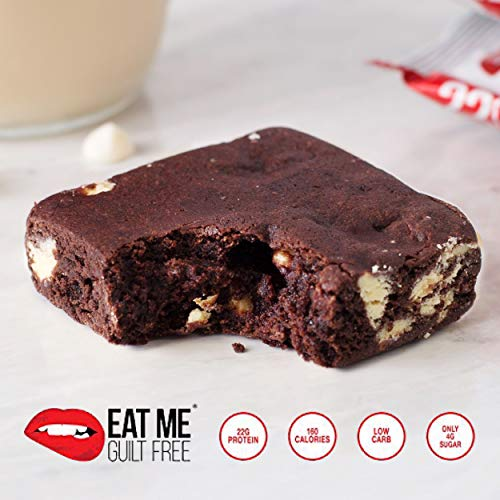 Healthy High Protein, Low Carb, Flourless Tuxedo Brownie Snack Box