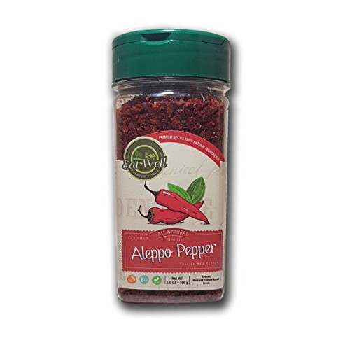 Premium Aleppo Pepper Flakes | 3.5 oz - 100 gr | Crushed Turkish...