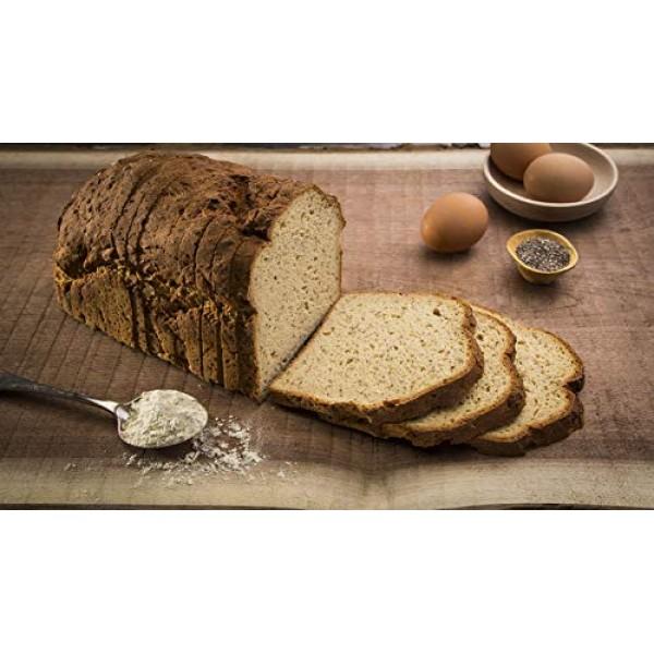 Eban's Bakehouse Fresh Baked Gluten-Free Flaxseed Oat Bread - 4 ...