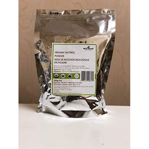 Organic Nutmeg Ground 1LB