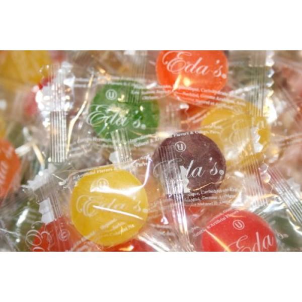 Edas Sugarfree Mixed Fruit Hard Candies, 2 Lbs