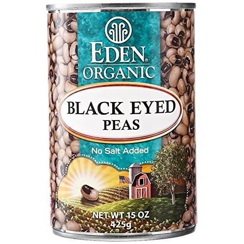 Eden Organic Canned Peas, Black Eyed, 15 oz