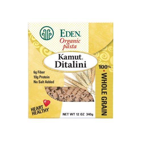 Eden Organic Kamut Ditalini, 100% Whole Grain, 12-Ounce Boxes P...