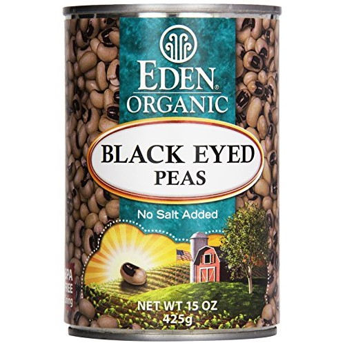 Black Eyed Peas Organic 15 Ounce 425 grams Can