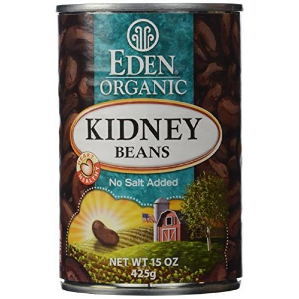 Eden Foods Organic Kidney Beans, 15 oz