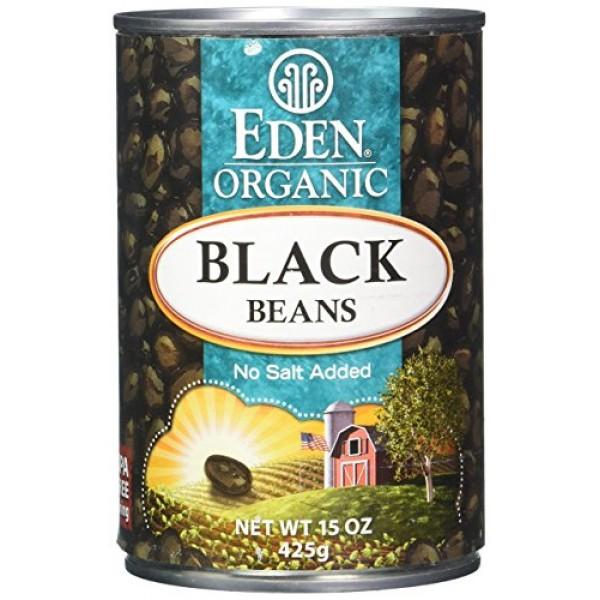 Eden Foods Organic Black Beans, 15 oz