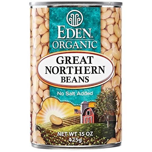 Eden Foods Organic Great Northern Beans, 15 oz