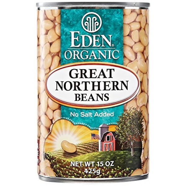 Eden Foods Organic Great Northern Beans, 15 oz
