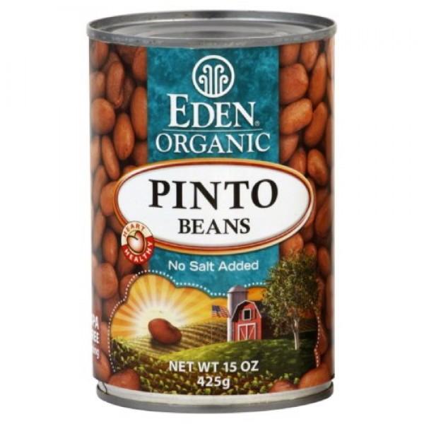 Eden Organic Pinto Beans 15.0 OZpack of 3