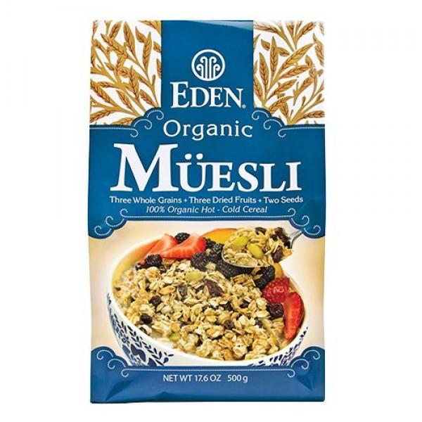 Eden foods muesli organic 17.6oz