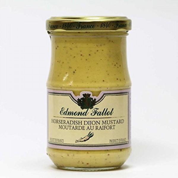 Edmond Fallot Horseradish Dijon Mustard 7.4 ounce