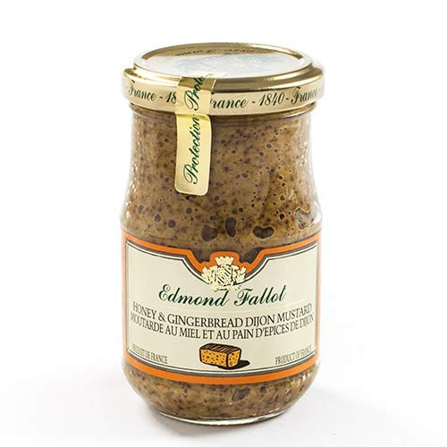Edmond Fallot Honey & Gingerbread Dijon Mustard 7 ounce