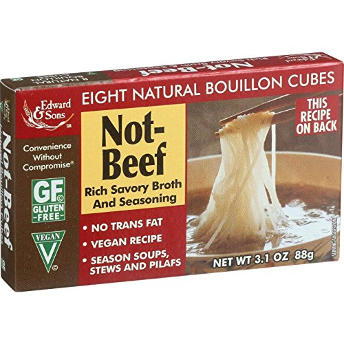 Edward & Sons Not Beef Bouillon Cubes, 3.1 oz