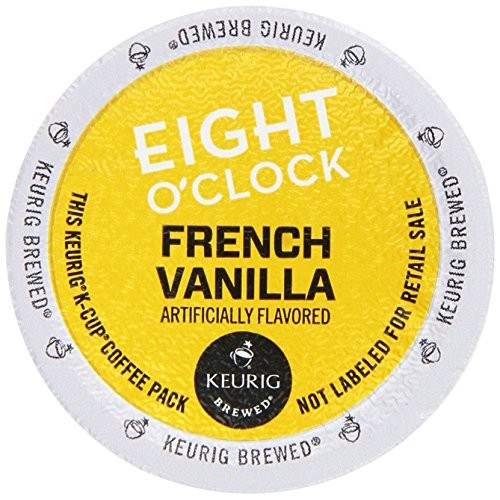 Eight OClock French Vanilla Coffee Keurig 2.0 K-Cup Pack, 36 Count