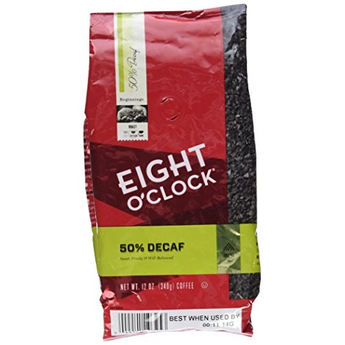 Eight OClock 50% Decaf Ground Coffee