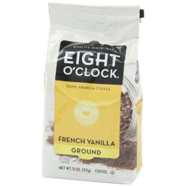 Eight OClock Coffee - French Vanilla ground - 11oz Pack of 2