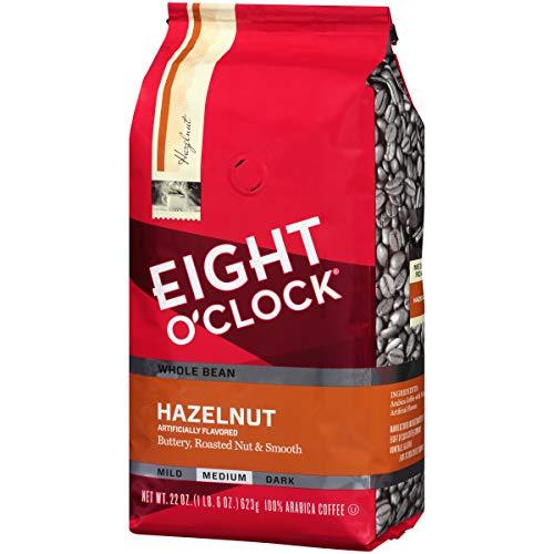 Eight OClock Whole Bean Coffee, Hazelnut, 22 Ounce
