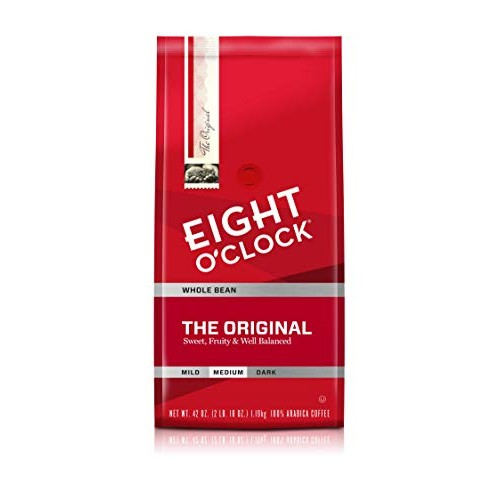 Eight OClock Whole Bean Coffee, The Original, 42 Ounce Packagi...