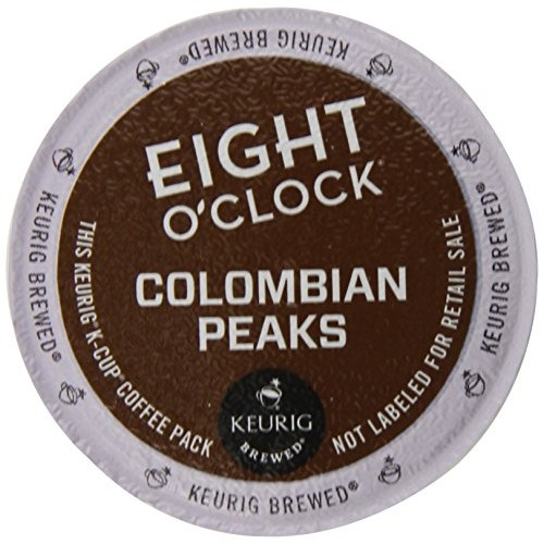 Eight OClock Colombian K-Cups for Keurig K-Cup Brewers, 72 Count