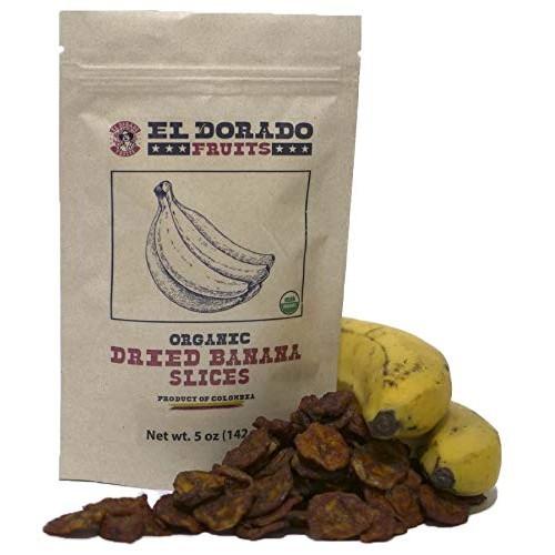 El Dorado Fruitsl Organic Dried Banana | No Sugar Added Natural ...
