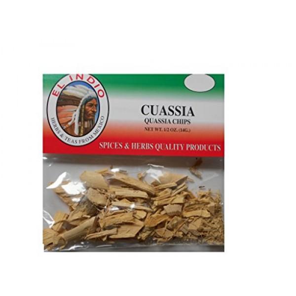 Cuassia / Quassia Chips Net Wt 1/2oz 14gr 3-Pack