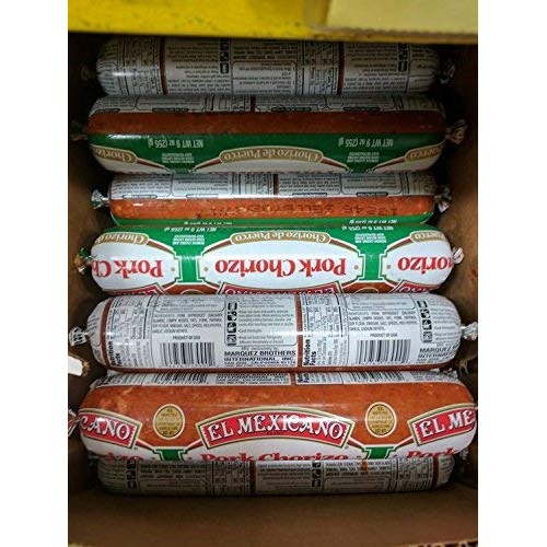 El Mexicano Pork Chorizo Sausage 9 Oz 6 Pack
