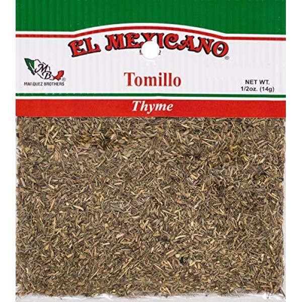 El Mexicano Thyme/ Tomillo 1/2 oz
